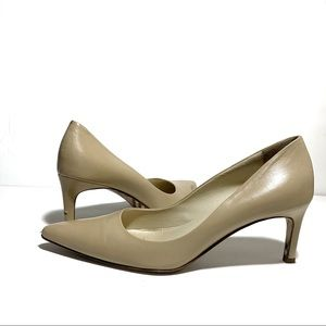 Burberry classic nude pumps 39
